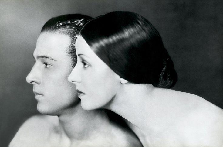 Rudolph Valentino and Natacha Rambova, 1925. Photograph by James Abbe.