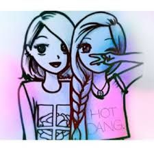 66 best dibujos de amistad images on Pinterest  Friends Bffs and