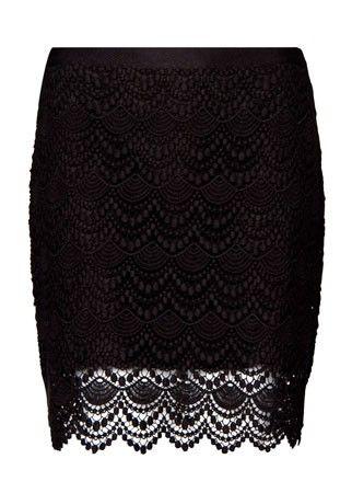Mango lace miniskirt, £59.99 - skirt - skirts - best skirts - high street - fashion - shopping - marie claire