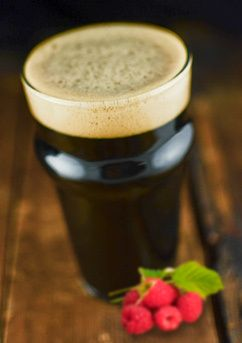 Raspberry Basil Porter Aged on Palo Santo Wood -- don't do raspberry, so I might have to sub out for another fruit...