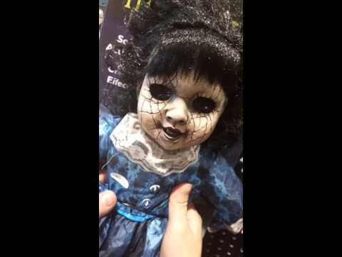 Very Scary Doll with no eyes!!