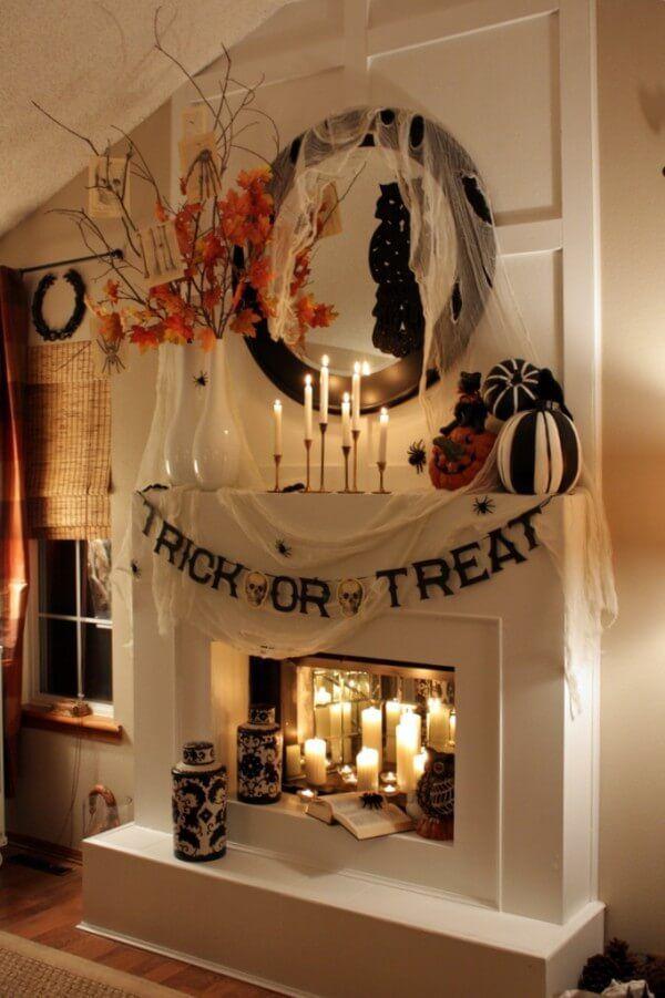 Halloween Decorating Ideas 2020 51+ Spooky DIY Indoor Halloween Decoration Ideas For 2020 | Classy