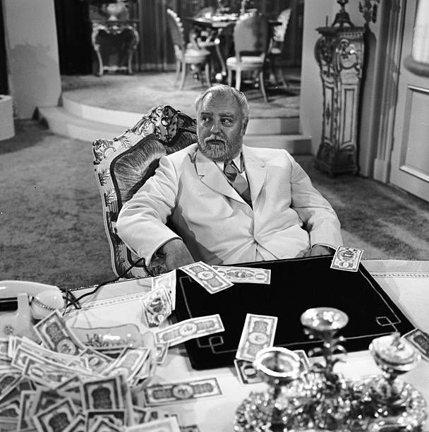 episode 'A Nice Place To Visit' Image dated March 2 1960 Show date April 15 1960 Sebastian Cabot as Mr Pip