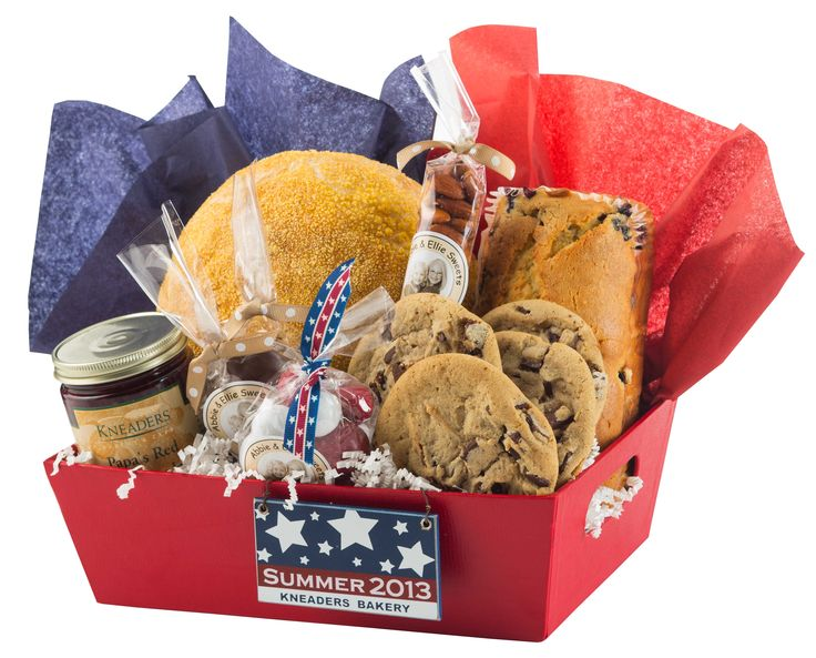 Summertime gift basket kneaders kneaders gift for Holiday gift ideas clients