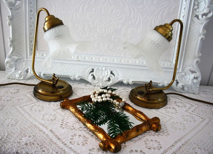 süße Lampe,Messing,VINTAGE von Ilonetta auf DaWanda.com
