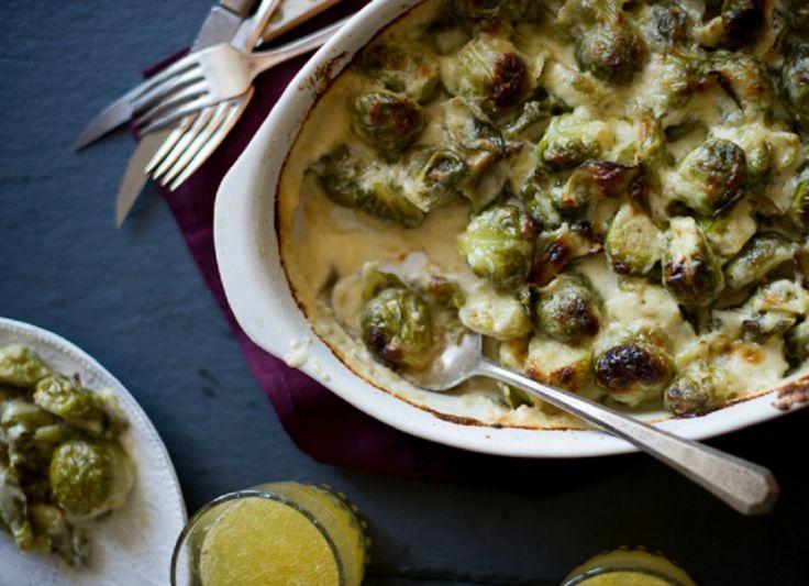 брюссельская капуста с сыром