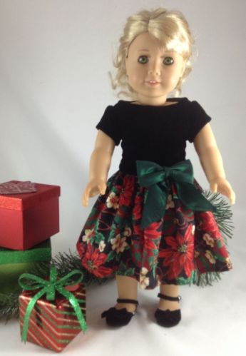 18T Holiday Wear Christmas Dress Shoes for Lanie McKenna Saige Rebecca Kit | eBay