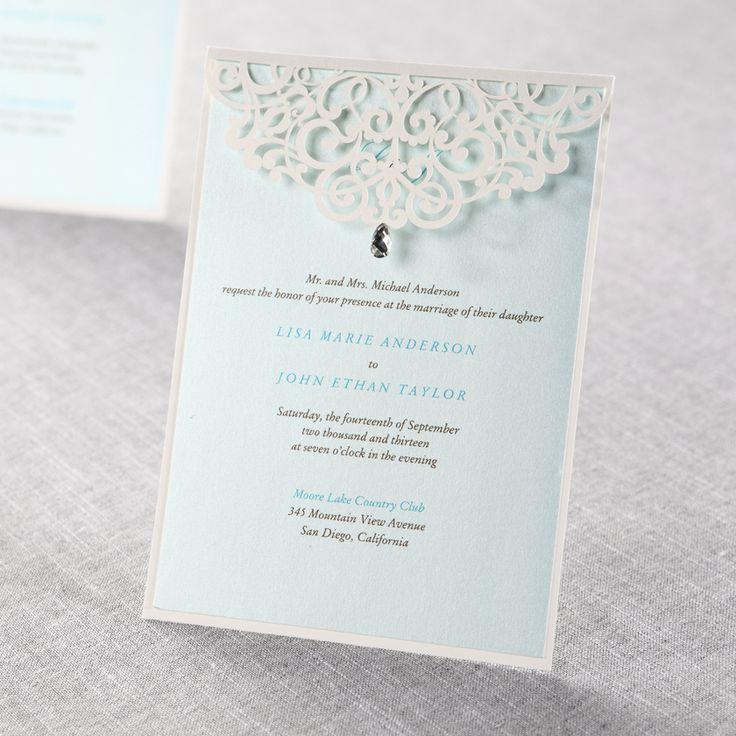 wedding invitations from michaels crafts%0A Unique Wedding Invitations   Elegant and Stylish Custom Invitations