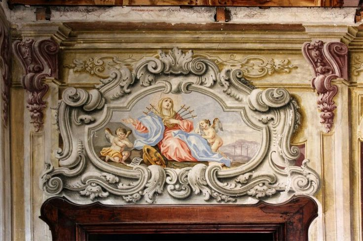 Affreschi Palazzo Capua Sarno