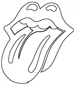 how to draw the rolling stones lips and tongue step 4