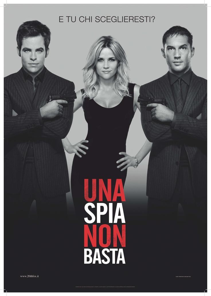 """Cosa succede quando due agenti della Cia si innamorano della stessa donna? """"Una spia non basta""""… Da lunedì per te con Grande Cinema 3 http://www.grandecinema3.it/"""