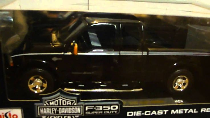 images of 1/18 pickup trucks | 2004 Ford F-350 Super Duty Truck Harley Davidson Truck 1 ...
