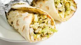 Paneer Shawarma / Best Indian Street Style Veg Shawarma / Indian Street Food