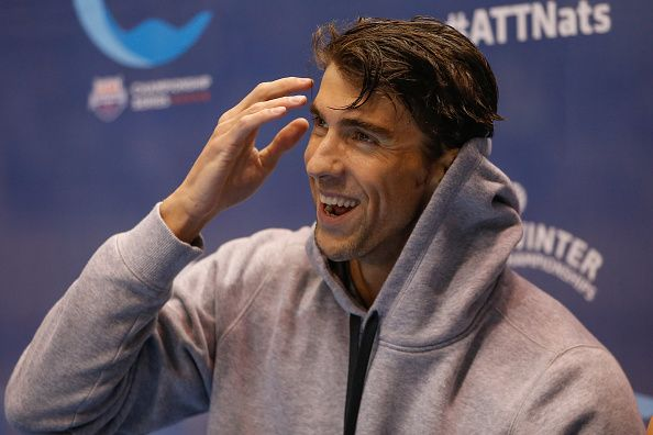 Watch a Speedo-Clad Michael Phelps Distract a Free Throw Shooter...: Watch a Speedo-Clad Michael Phelps Distract a Free… #MichaelPhelps