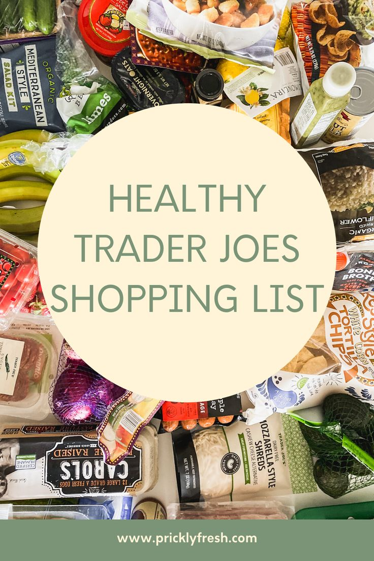 I've rounded up a trader joes shopping list full of my go-to items. All of the things I think are worth it, healthy and…