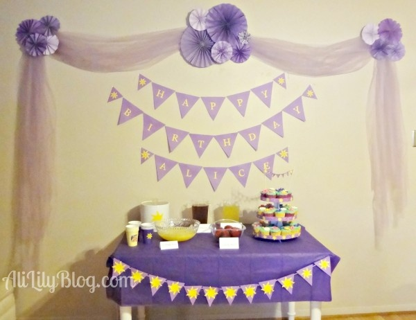 rapunzel tangled party food