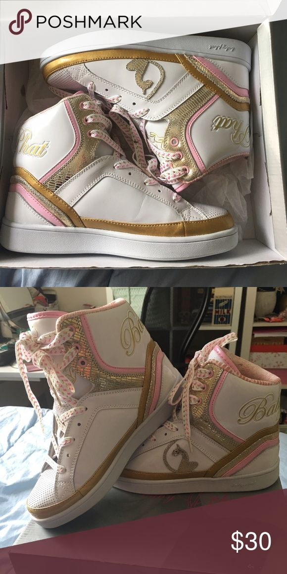 Baby Phat High Top Sneakers (never used) High top sneakers Baby Phat Shoes Sneakers