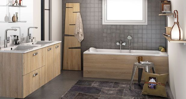 16 best salle de bain images on pinterest html accessories and architecture - Bibliotheek castorama ...