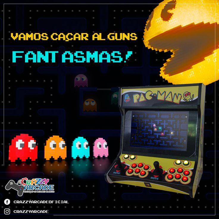 """HORA DE CAÇAR FANTASMAS  o Pac-Man (vulgo """"come-come"""") vem conquistando corações há 32 anos e até hoje ganha novos fãs com seu estilo único."""