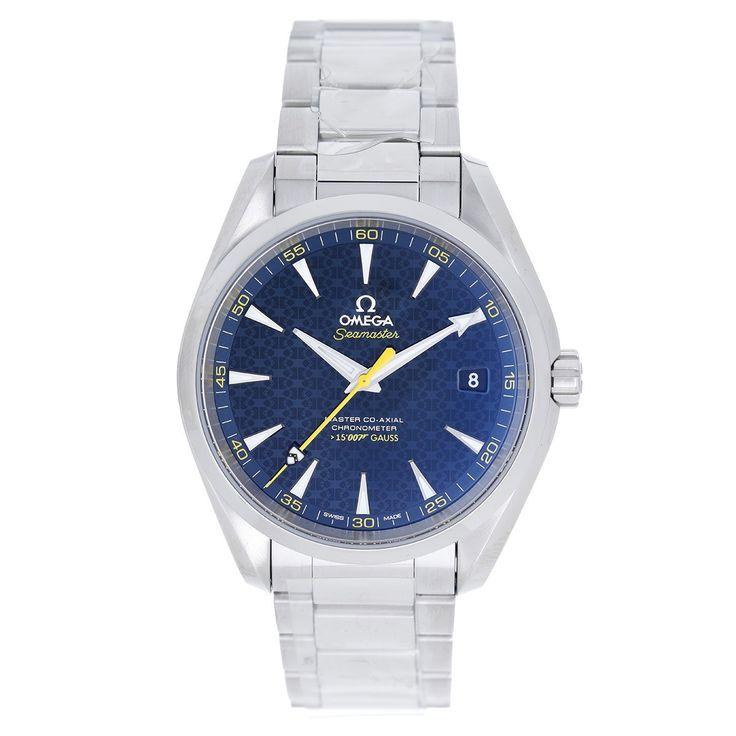 Seamaster Aqua Terra James Bond 007 Spectre Co-Axial Men's Watch 231.10.42.21.03.004