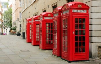 The random old-fashioned phone call