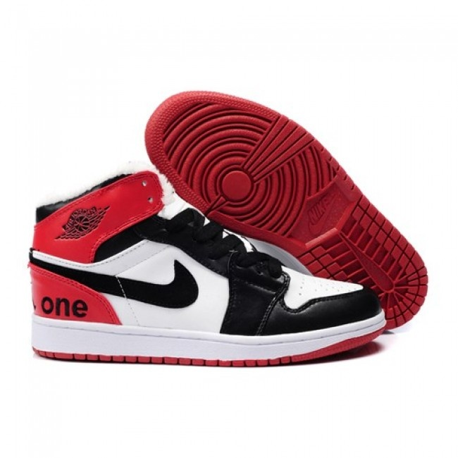 Buy Shopping Online Air Jordan 1 Fur Inside Mens Shoes On Sale Cheap Black  White Red Authentic from Reliable Shopping Online Air Jordan 1 Fur Inside  Mens ...