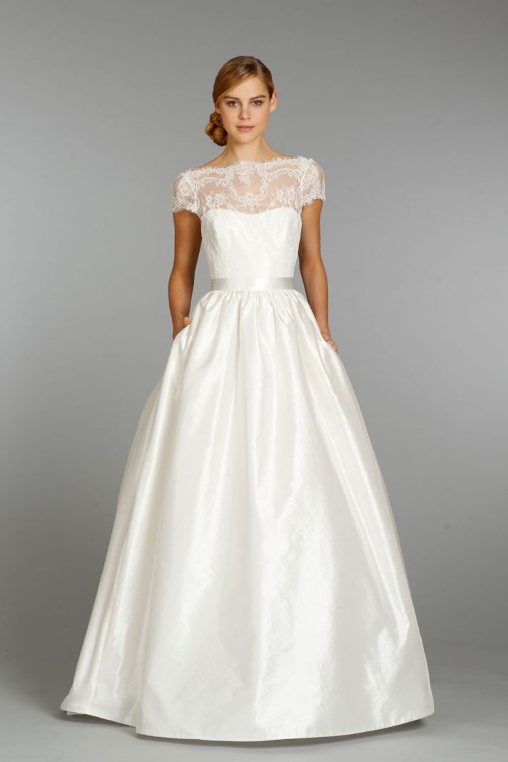 Tara Keely Wedding Dress Fall 2013 Bridal 2357 Beautiful lace A-line