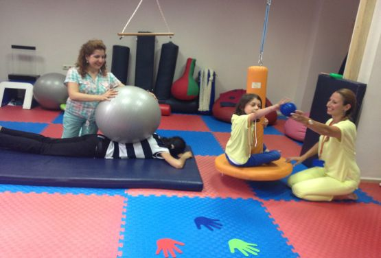 Activity examples for proprioseptive and vestibular system stimulation