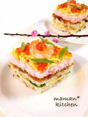 ひな祭りに☆ちらし寿司 by YUZUMAMAN [クックパッド] 簡単おいしい ...