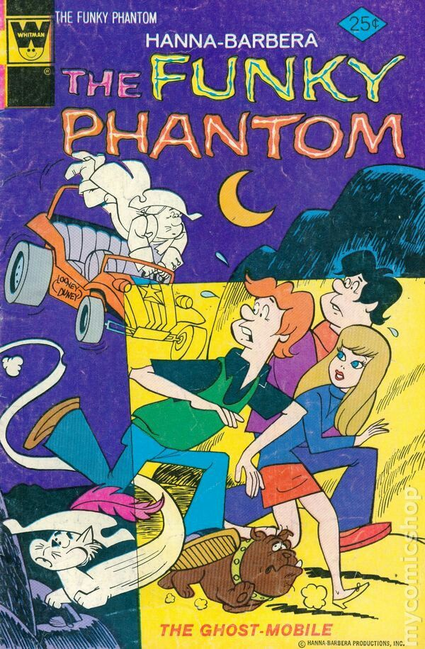 The FUNKY Phantom-- The Ghost-Mobile!