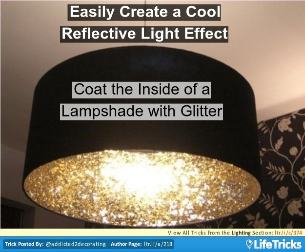 Easily Create a Cool Reflective Light Effect