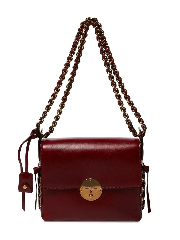 Nolita Lace-Up Leather Shoulder Bag by Marc Jacobs at Gilt