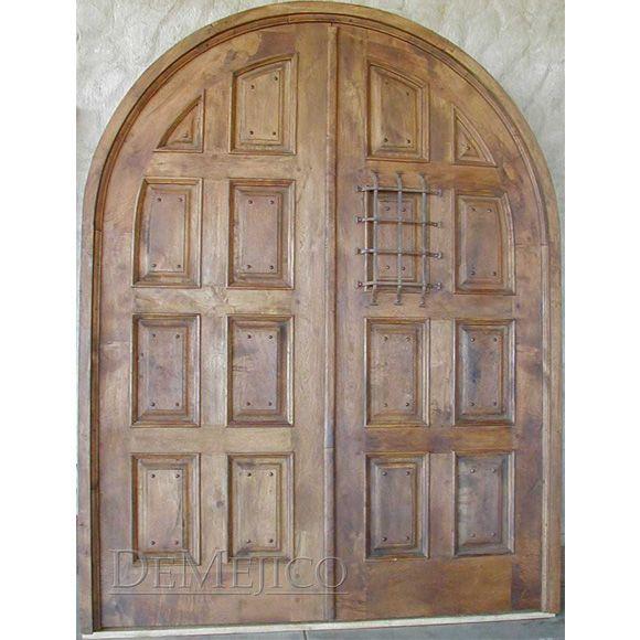Puerta Hacienda, Mediterranean Entry Doors - Demejico