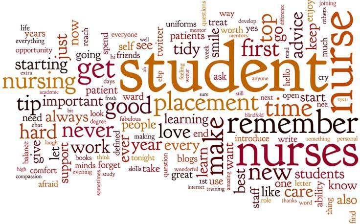 #WeNurses 18/09/14 supporting student nurses with @WeMHnurses