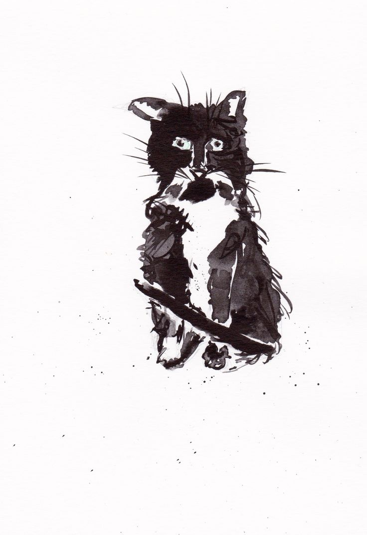 Friday feeling Cat!   #cats #catoftheday #catlovers #artforsale #gifts #weird #homedecor #unique #creative #artist #ink #inkdrawing #etsyseller #lovecats