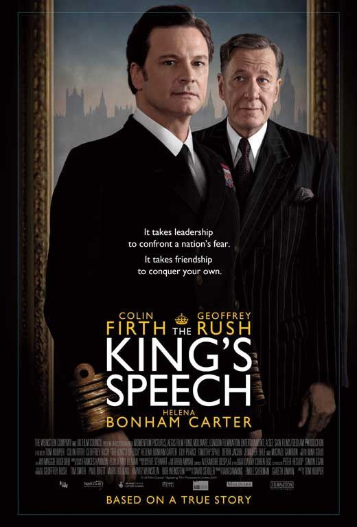 The King's Speech (UK) 27x40 Movie Poster (2010)
