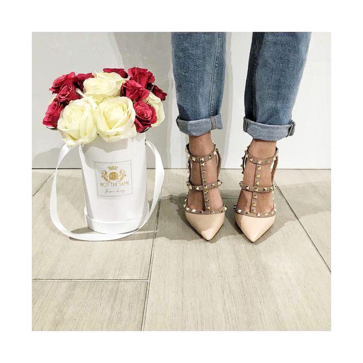 Mixing fashion & flowers