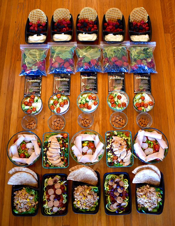 No-Cook Meal Prep | BeachbodyBlog.com I really wanna try meal prepping