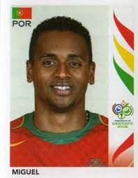 Image result for germany 2006 panini portugal miguel