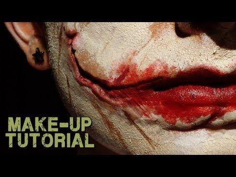 Joker Scars; How to Make up with Joker Prosthetics (Professional)