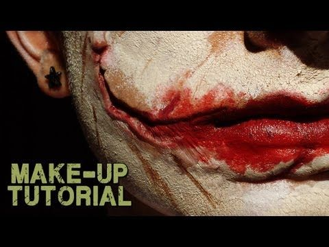 Halloween Prosthetics, Halloween Makeup & Halloween Kits :: Slashed Smile Prosthetics -