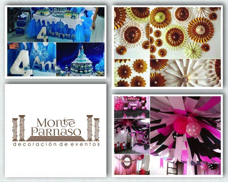 MONTE PARNASO Decoración de eventos y fiestas