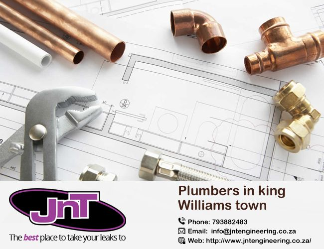 Jnt Engineering #Plumbers in King William's Town Eastern Cape. We promise to provide a plumber service of the highest quality at the best prices in King @WilliamsTown.    http://bit.ly/2iCjJEQ