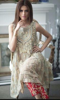 Pakistani Dress : Designer Mina Hasan Inspired by KaamdaniCouture