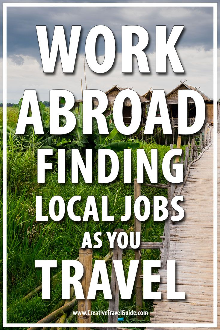 Taylor from What my eyes have seen tells us about her amazing adventures finding local jobs as you travel.