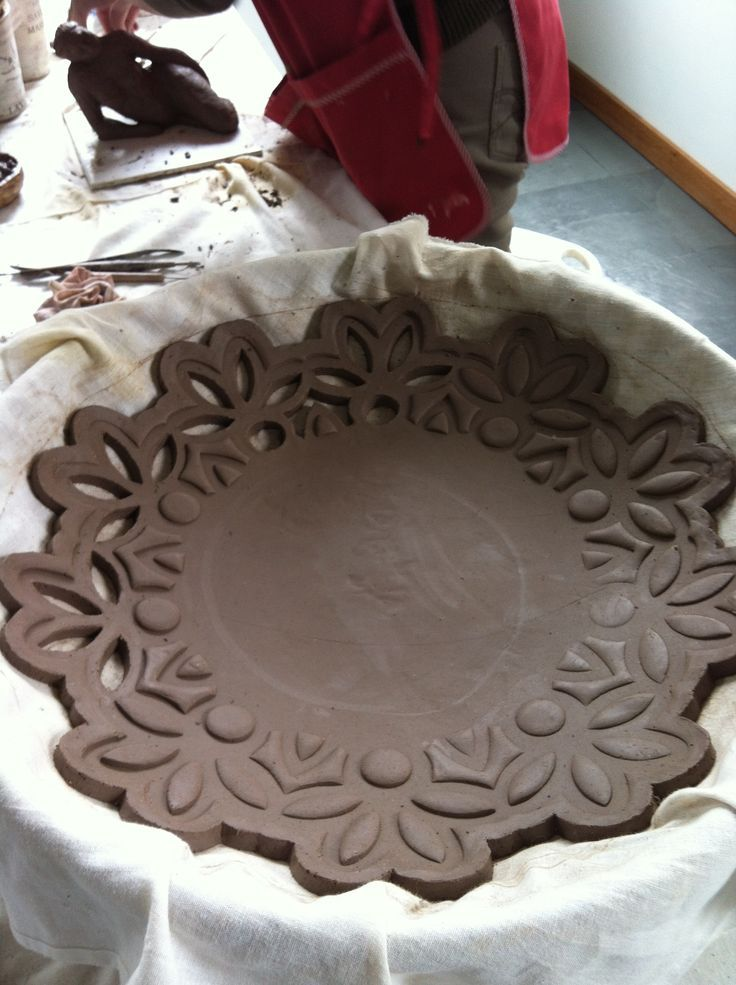 slab bowl.  you know how to do this.  Easy but very pretty I love this!: