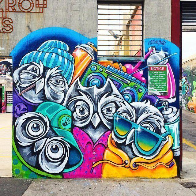 #Streetart: new piece by #StineHvid in #Melbourne, Australia @stinehvid Daily street art gallery: https://barbarapicci.com/2018/02/13/streetart-news-1142/ #gufi #gufo #owl #owls #arte #art #graffiti #murals #mural #murales #murali #arteurbana #urbanart #muralism #muralismo #cultureisfreedom #artisfreedom #curiositykilledtheblogger #artblogging #photooftheday #picoftheday #bestphoto #instaart #instadaily #bestoftheday #contemporaryart #artecontemporanea