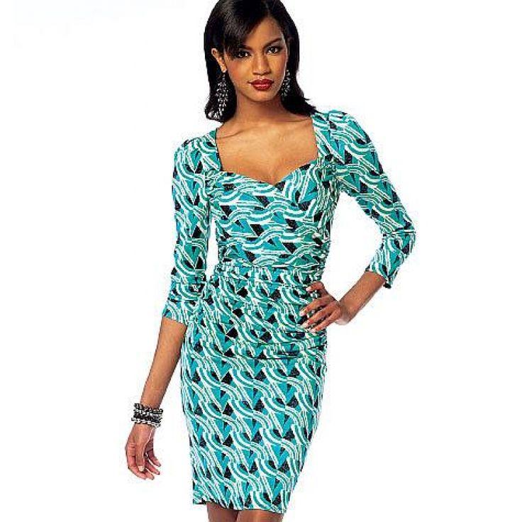 Schnittmuster McCalls 6801 Kleid