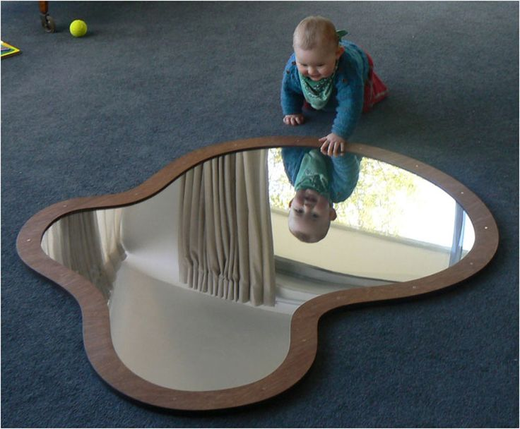 LITTLES ROOM. Acrylic mirror from Taragon Creations LTD - I love the idea of a huge floor mirror!