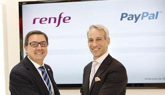 Los billetes de Renfe se podrán pagar con PayPal | Zonamovilidad.es